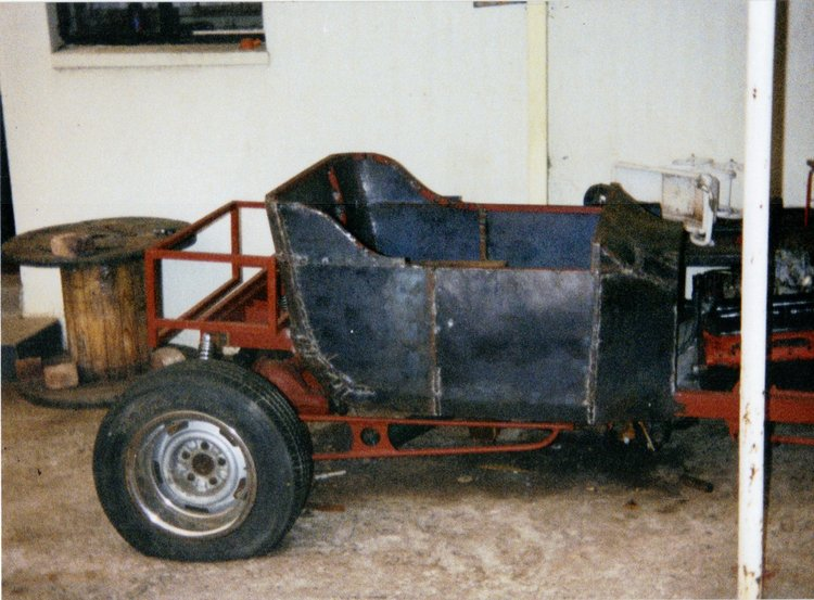 T-Bucket Steel Body Marius Mouton