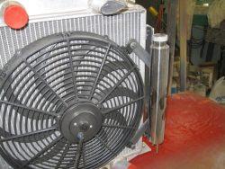 T Bucket electric fan
