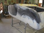 1927 T-Bucket Roadster Project: Part 21, Patching Fiberglass Bodies