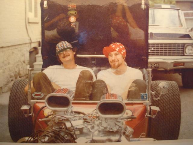 Don Kendall T-Bucket Gary Glenn