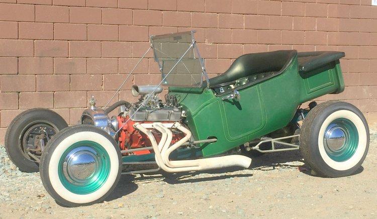 California raked T-Bucket