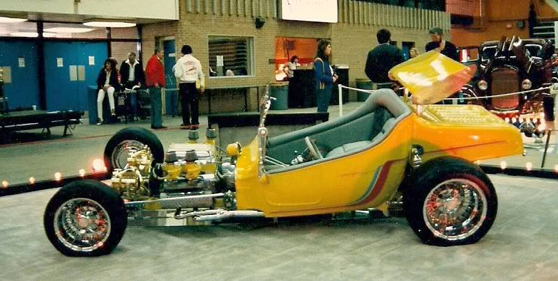 Corvair Powered T-Bucket built by Don Kendall