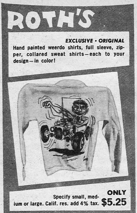 Roth Studios Ed Roth T-Bucket Custom shirt