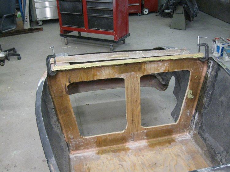 T-Bucket Interior Enlarging