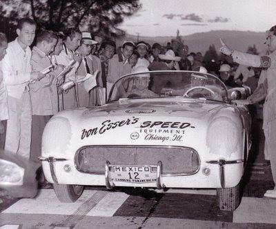 Von Esser Speed Shop 1954 Corvette
