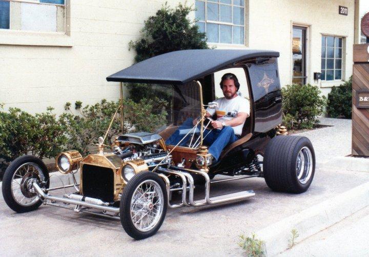 Don Kendall in Dan Woods C-Cab