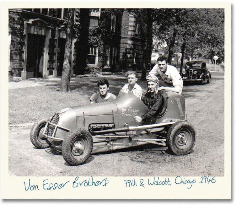 Von Esser Brothers Special midget racer