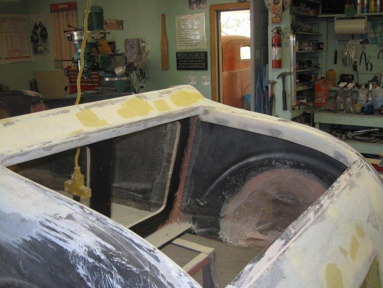 1927 Model T trunk lid
