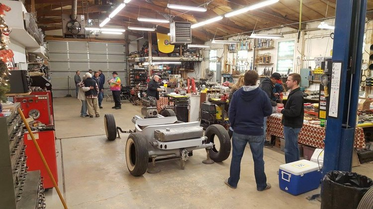 Fox Valley Hot Rods T-Bucket holiday party