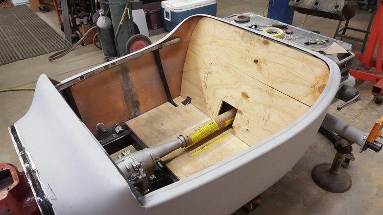 Fox Valley Hot Rods T-Bucket interior