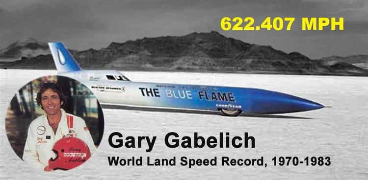 Gary Gabelich Blue Flame