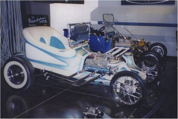 Instant T & Roth's Outlaw at Petersen Museum