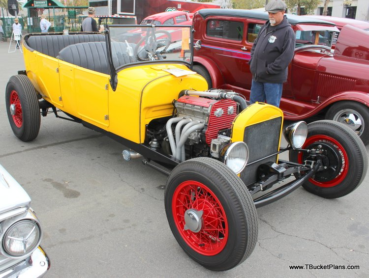 Larry McCullah T-Bucket Grand National Roadster Show 2016