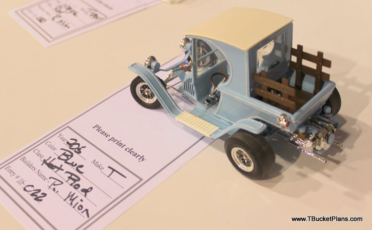 P Mion T-Bucket model car GNRS 2016