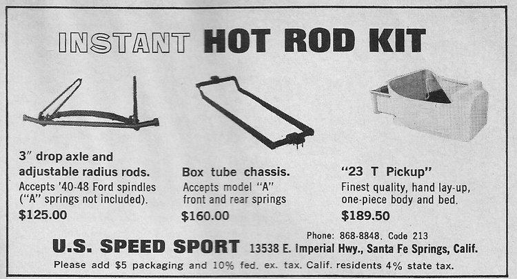 U. S. Speed Sport April 1964