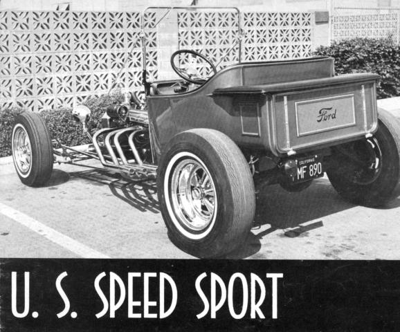 U. S. Speed Sport catalog T-Bucket