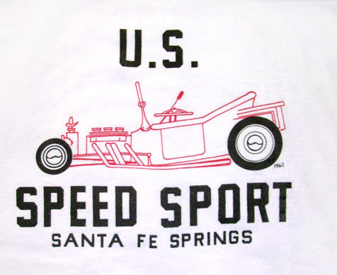 U. S. Speed Sport T-Bucket logo