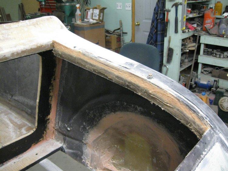 building fiberglass trunk lid t-bucket