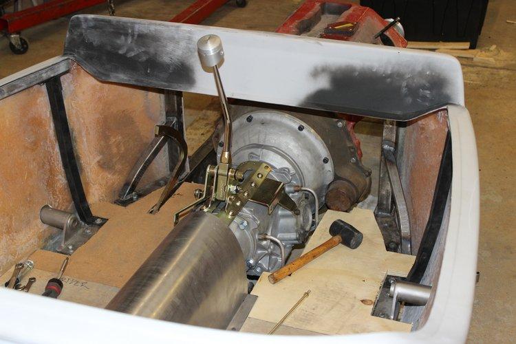 reinforcing fiberglass body T-Bucket
