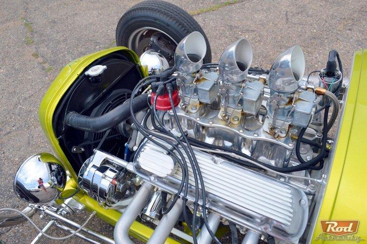 23 Ford Model T roadster-