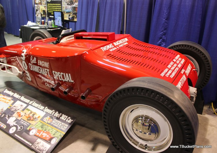 Bell Engine T Lakester Roadster Show 2016