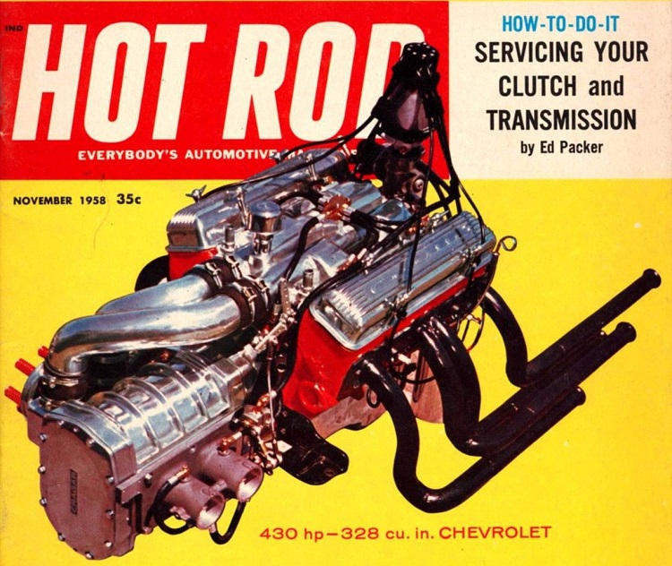 Potvin Blower Hot Rod November 1958