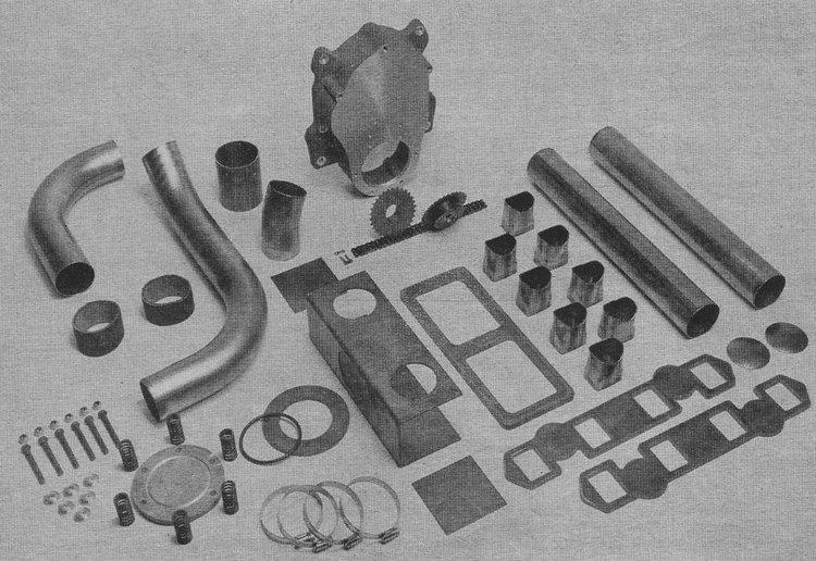 Potvin front drive blower kit