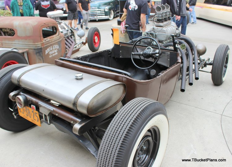 Ron Attig T-Bucket Dodge D-Bucket Roadster Show 2016