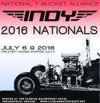 T Bucket Nationals Indianapolis 2016