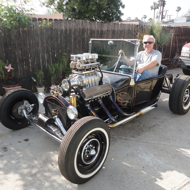 Greg Beck 1915 T roadster