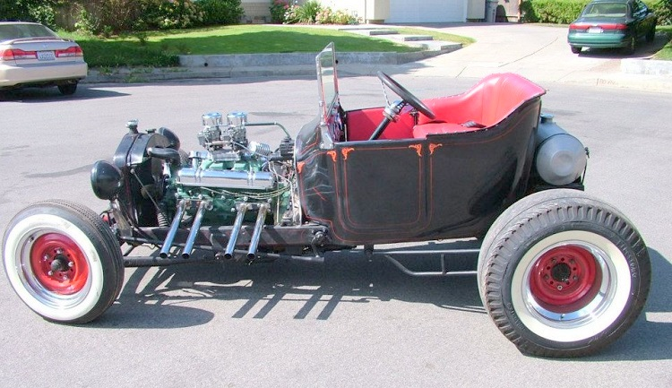 Marcus Edell 1915 T roadster nailhead