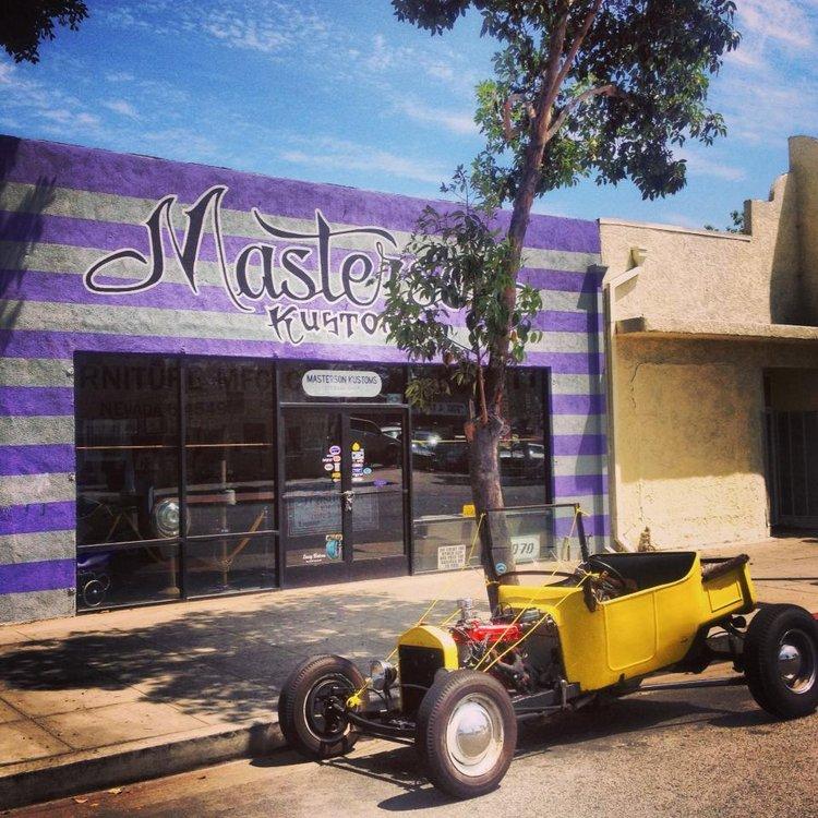 4 cylinder T-bucket Masterson Kustom Automobiles