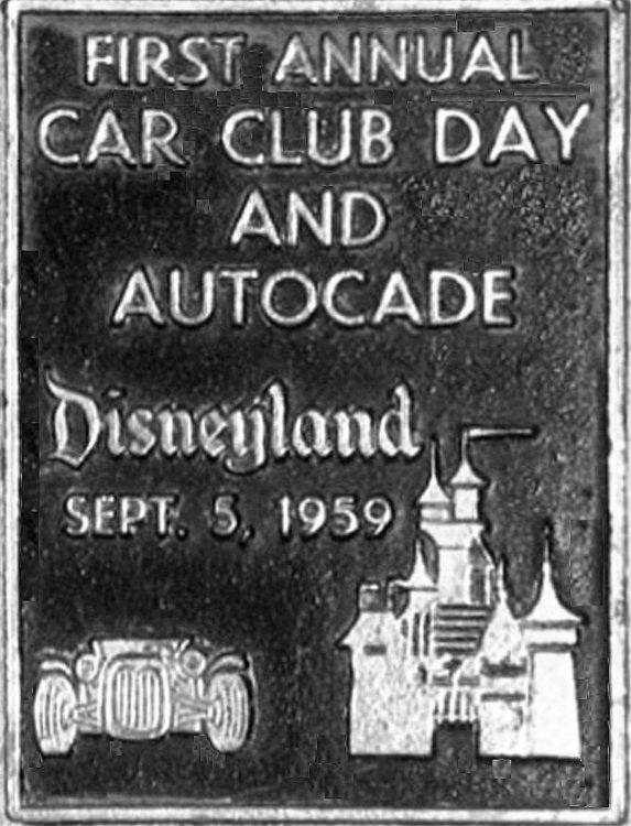 T-Bucket car show 1959 Disneyland Autocade