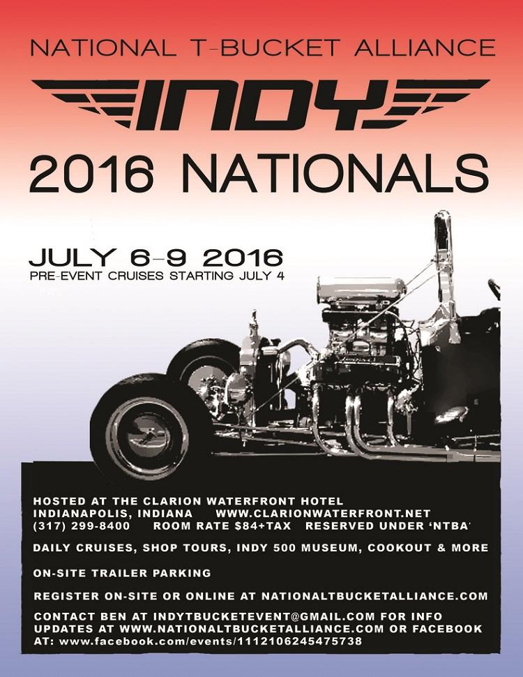 T-Bucket Nationals 2016 Flyer