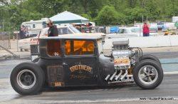 nostalgia drag racing Brothers Racing Blown T