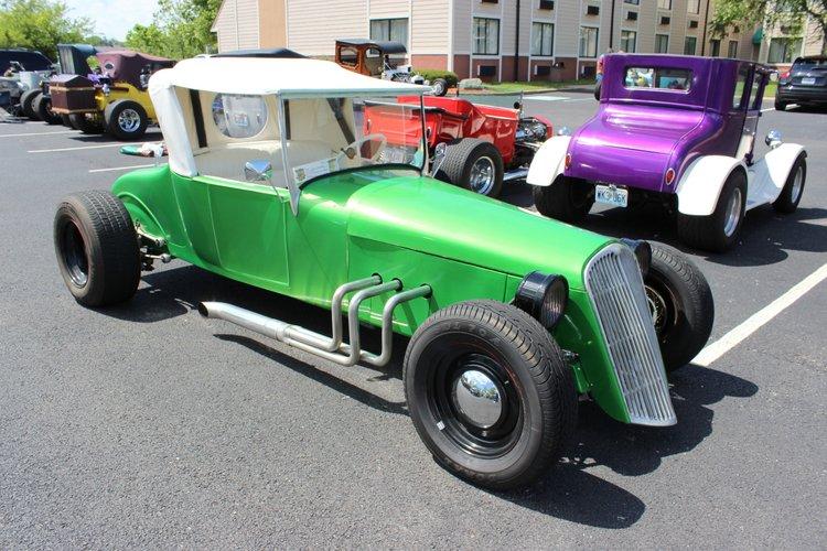 Terry McAllister V6 T-Bucket roadster