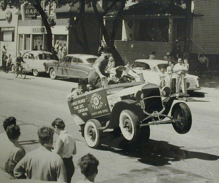 Model T clown car