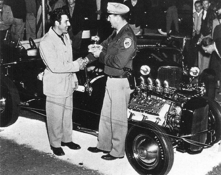 Blackie Gejeian T roadster 1953 Oakland Roadster Show