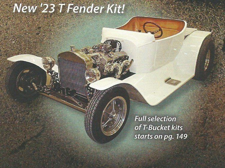 Speedway Motors new T-Bucket Fenders