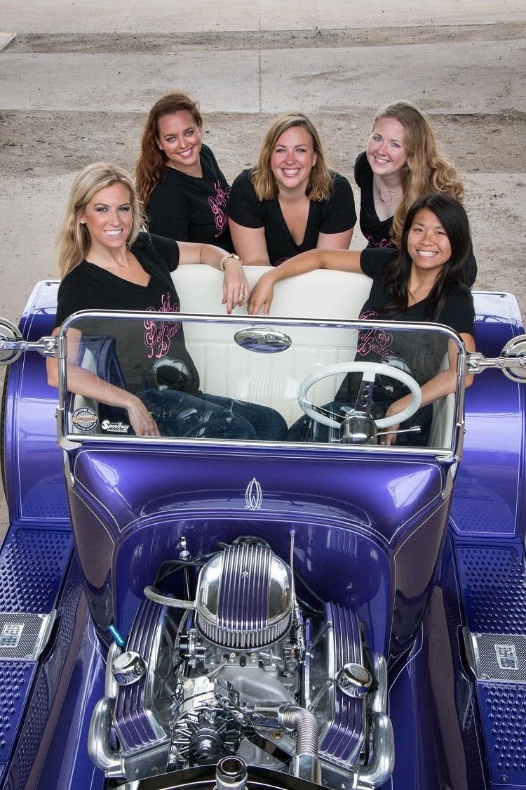 The Bucket Beauties Speedway Motors T-Bucket Fenders
