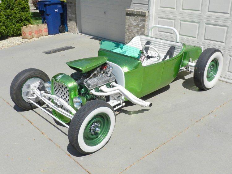 Blaise Kendall green T-Bucket