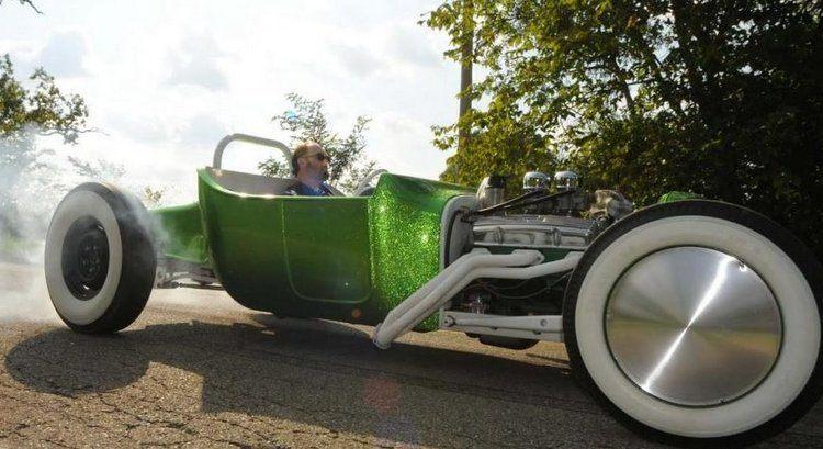 green T-Bucket