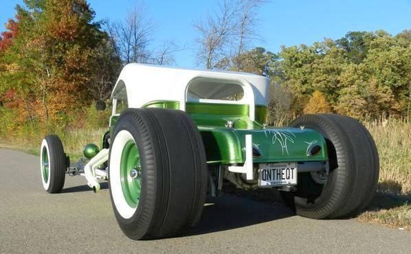 green T-Bucket Blaise Kendall