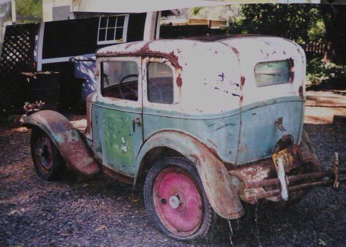 Art Tardiville 1932 American Austin Bantam coupe