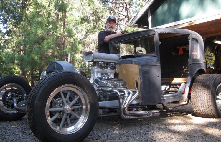 Art Tardiville American Austin Bantam Coupe T-Bucket Chassis