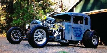 Art Tardiville American Austin Bantam Coupe T-Bucket Chassis