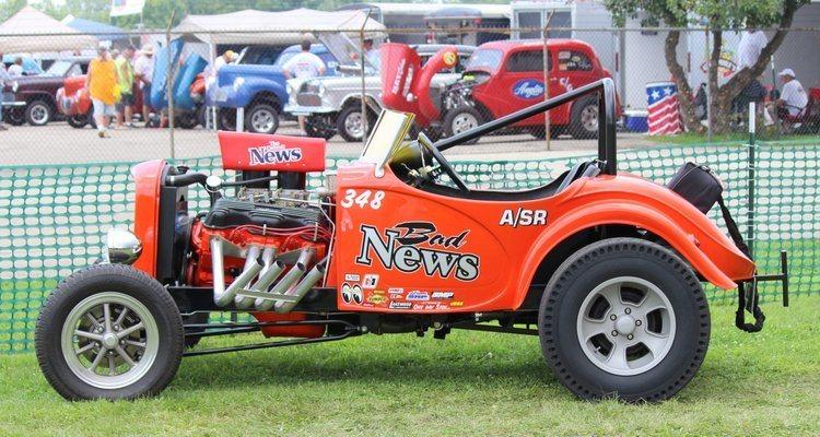 Fred Desch Austin Bantam roadster
