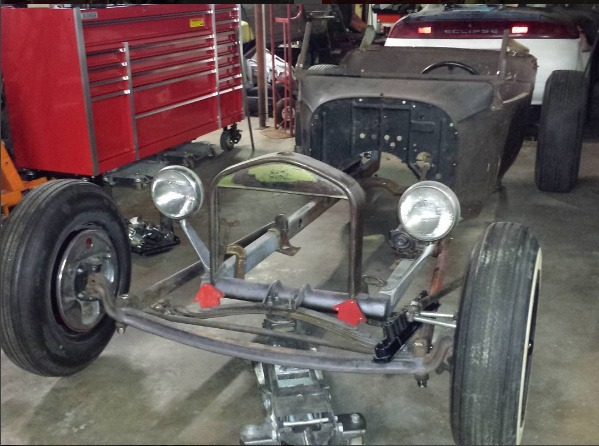 Speedway T-Bucket parts