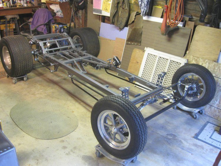 T-Bucket chassis Art Tardiville American Austin Bantam coupe