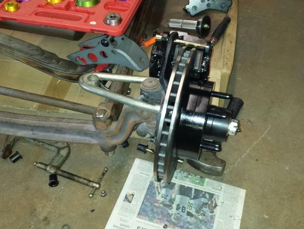 T-Bucket disc brakes
